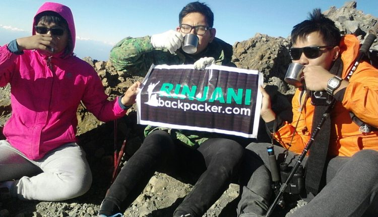 Rinjani Sharing Group Trekking Package on Budget